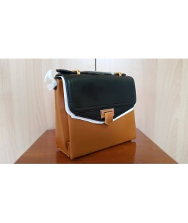 Charles and Keith Bag-Black-Yellow