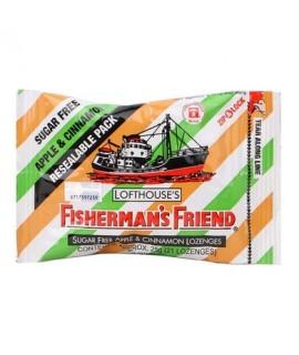 Fishermen's Friend Apple & Cinamon Sugar Free