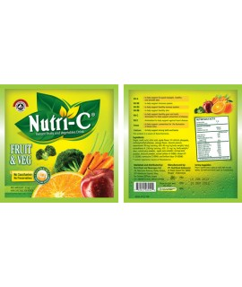 Nutri-C Instant Fruits and Vegetables Drink