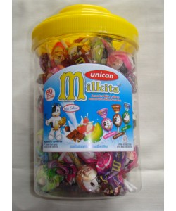 Milkita Assortedt Milk Candy Jar