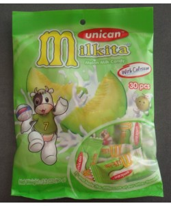 Milkita Melon Milk Candy Bag