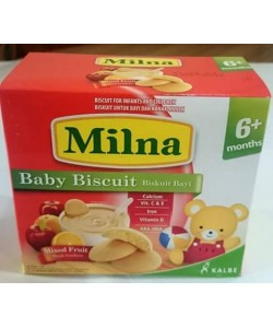 Milna Baby Biscuit Mixed Fruit 130g