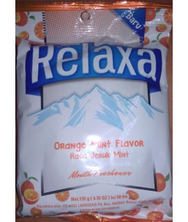 Relax Orange Mint Flavor Bag