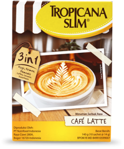 Tropicana Slim Coffee Latte 10