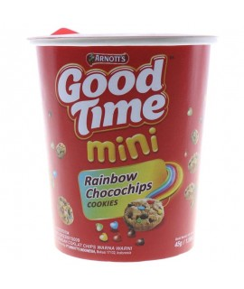 Good Time Rainbow Chocochip Cookie Cup