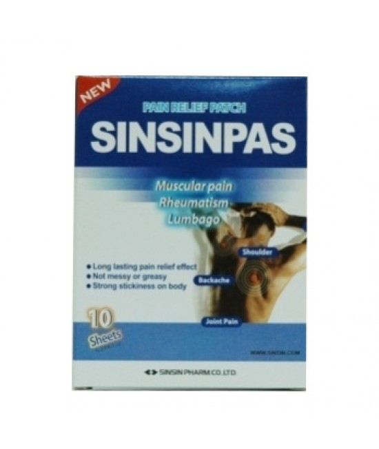 Sinsinpas Icy Cool Patch