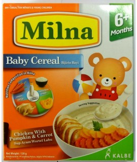 Milna Baby Cereal Chicken with Pumpkin & carrot
