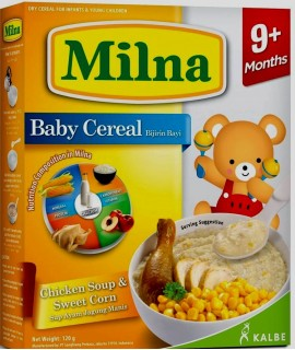 Milna Baby Cereal Chicken Soup & Sweet Corn