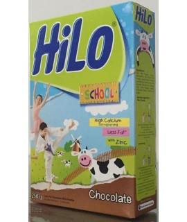 Hilo School Less Fat Chocolate Milk Powder 250g