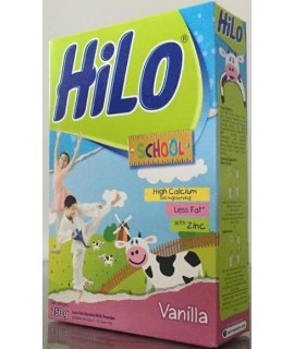 Hilo School Less Fat Vanilla Milk Powder 250g