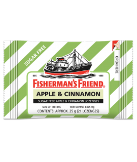 Fisherman's Friend Apple & Cinamon Sugar Free
