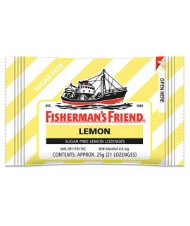 Fisherman's Friend Sugar Free Lemon