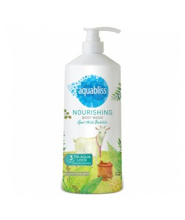 Aquabliss Goat Milk Bubble Body Wash
