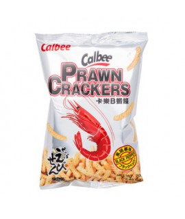 Calbee Prawn Cracker Black Pepper