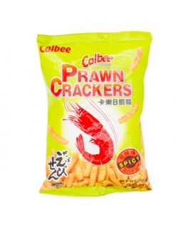 Calbee Prawn Cracker Spicy