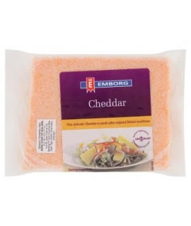 Emborg Cheddar Cheese Coloured 200g