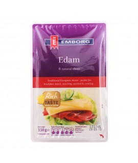 Emborg Edam Cheese Sliced