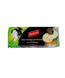 Fantastic Sour Cream&Chives Rice Cracker