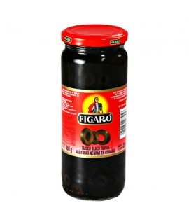Figaro Pitted Black Olives 400g