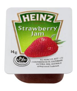 Heinz Strawberry Jam Portion