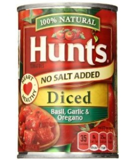 Hunt's Diced Basil Garlic & Oregano