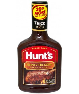 Hunt's Honey Hickory Barbecue Sauce