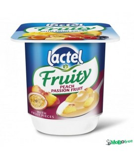 Lactel Fruity Peach Passion Fruit