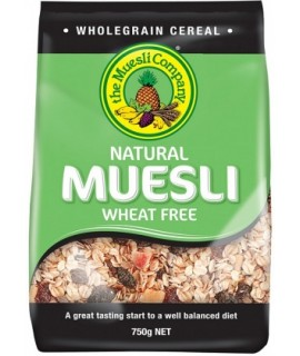 Natural Muesli Wheat Free