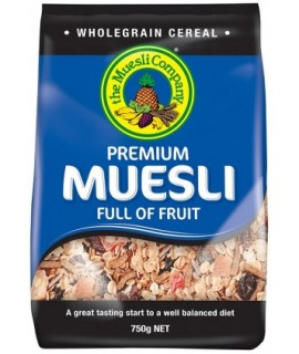 Premium Muesli Full Of Fruit