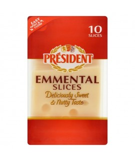 President Emmental Cheese 10 Slices