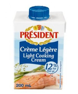 President Light Cream 12% Fat