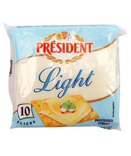 President Light Processed Cheese 10SL