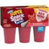 Snack Pack Juicy Gels Strawberry