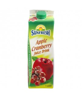 Sunfresh Apple Cranberry Juice Drink