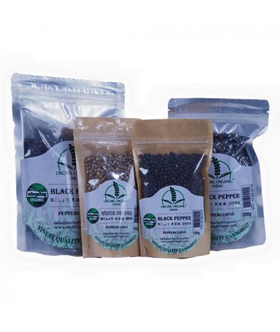 Ground Black Pepper (100g)