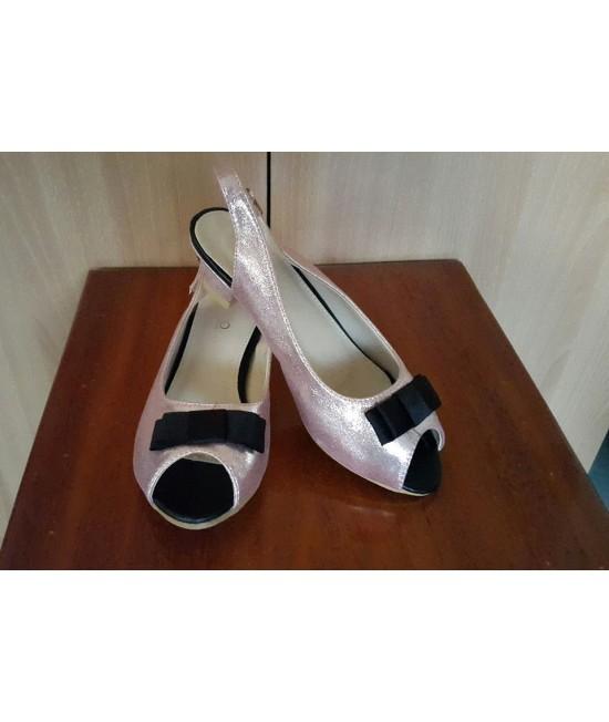 Tizio shoe - White - Black