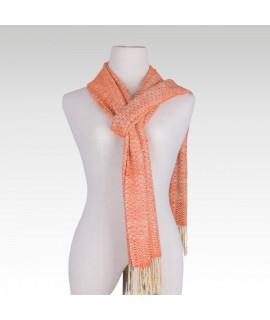 Romduol raw silk scarf